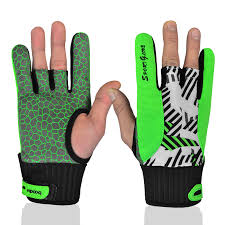 <b>1 Pair</b> BOODUN <b>Men Women</b> Bowling Glove for Left Right Hand Anti ...