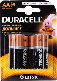 <b>Батарейка Duracell LR6/MN 1500-6BL</b> BASIC AA купить в ...