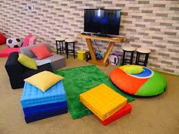 that is nothing short of fun in the new google office indonesia is the presence ofcafeteria dubbed mbah google atmosphere google office