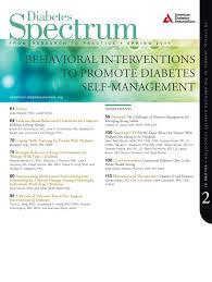 diabetes spectrum