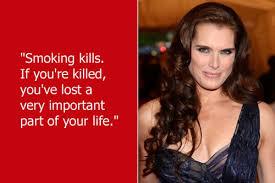 Dumb Celebrity Quotes – Brooke Shields via Relatably.com