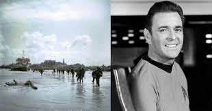 <b>James</b> Doohan - Star Trek Star Shot <b>Two</b> Snipers On D-Day And ...