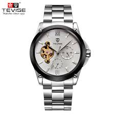 <b>TEVISE Mens</b> Watches Automatic <b>Self Wind</b> Mechanical Watch ...