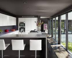 Kitchen Breakfast Bar Kitchen Modern Kitchen Breakfast Bar With L Shaped Design