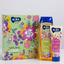 Подарочный <b>набор Aura Beauty</b> Natural Care: гель для душа, 260 ...