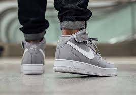 nike air force 1 mid wolf grey air force 1 mid