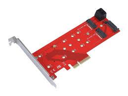<b>Аксессуар Переходник</b> C298E PCI E 4x to NGFF (M 2) PCI E M key ...