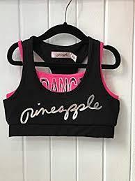 <b>Pineapple</b> DANCEWEAR Girls Racerback <b>Double</b> Crop Top Hot ...