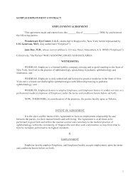 work contract sample info best photos of work contract agreement contract employee