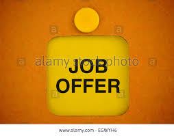 yellow sticker announcement for new job opportunity stock stock photo yellow sticker announcement for new job opportunity