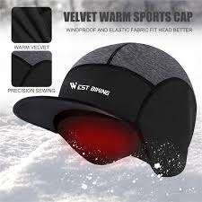 WEST <b>BIKING Winter Cycling</b> Caps <b>Warm</b> Fleece Bike <b>Helmet</b> Hat ...