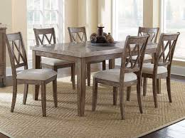 Silver Dining Room Set Steve Silver Franco 7 Piece 70x42 Rectangular Dining Room Set W