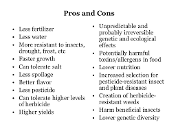 genetically modified food pros and cons essay BestWeb