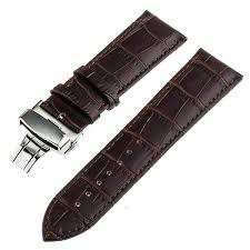 20mm 22mm <b>Genuine Leather</b> Watchband for IWC Watch <b>Band</b> ...