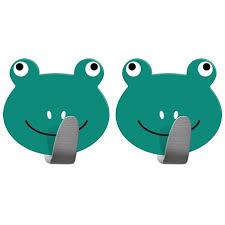 Tatkraft <b>Frogs</b> Набор из 2 самоклеящихся <b>крючков</b> сильной ...