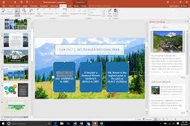 office define. office 2016 review powerpoint demo shot define