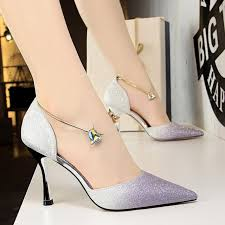 2018 Luxury Women <b>9cm Kitten</b> High <b>Heels</b> Rhinestone Sandals ...