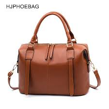 <b>HJPHOEBAG Fashion</b> double duty Women Leather Handbags PU ...