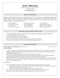 manager resume portfolio manager resume