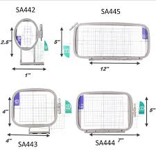 <b>Sew Tech Embroidery Hoops</b> for Brother Embroidery Machine ...