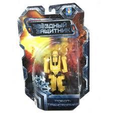«<b>1TOY Робот</b>-<b>трансформер</b> Звездный защитник спортивный ...