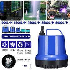 25W 35W 45W <b>60W Submersible</b> Water Pump 1800 3000L/H 2M ...