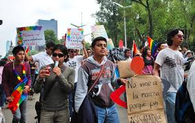 gay marriage is legal in but mexicans are still fighting protesters for gay marriage at the 2009 a gay in city gay marriage