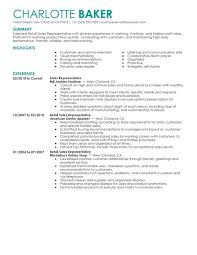 Rep Retail Sales Resume Sample My Perfect Resume