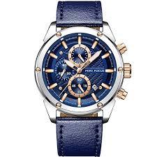Men Business Watches, MF <b>MINI FOCUS</b> Quartz Wrist <b>Watch</b> ...
