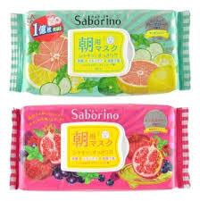 <b>Набор</b> тканевых <b>масок</b>-салфеток <b>Упругость</b> и питание Saborino ...