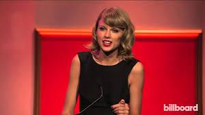 Taylor Swift accepts Billboard