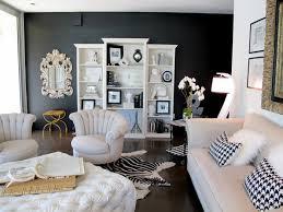 wall color black white furniture living room black accent wall fur carpet black white living room furniture
