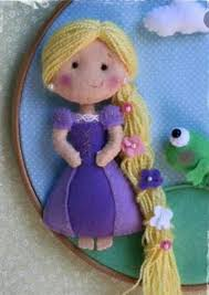 Rapunzel | Куколки, Куклы и Фетр