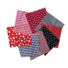 <b>8pcs</b> Cotton Sewing Quilting Fabric Patchwork DIY Clothing Sewing ...