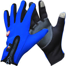 Winter Bicycle <b>Cycling Gloves</b> Warm Windproof Full Finger Bike ...