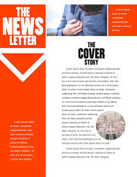 13 newsletter templates examples lucidpress black widow company newsletter template