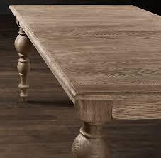 baluster rectangular dining tables restoration hardware grand baluster rectangular dining tables save learn more at restoratio