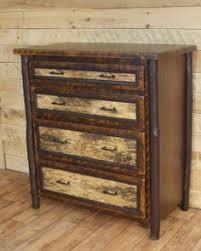 birchmont 4 drawer chest bark furniture