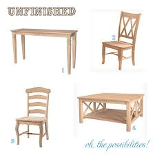 Unfinished Wood Dining Room Chairs Elegant Unfinished Dining Room Chairs 34 With Additional Designing