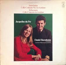 Saint-Saëns* - <b>Schumann</b>*, Jacqueline <b>Du Pré</b>, Daniel Barenboim ...