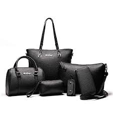 <b>Women Designer</b> Purses And <b>Handbags</b> Set Satchel Shoulder <b>Bags</b> ...
