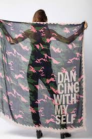 <b>Zadig & Voltaire</b> - Delta Camou Dancing Scarf – Uniquities