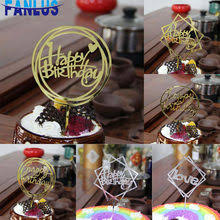 Happy Birthday <b>Cake Topper Flags</b> Party reviews – Online shopping ...