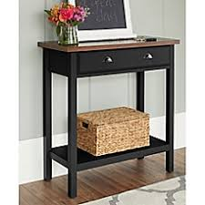 image of chatham house newport console table with drawer cheap entryway furniture