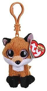 TY — брелок <b>Лисенок Slick</b>, TY 36613 в магазине <b>игрушек</b> ...