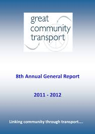 news great community transport more than just transport we cover page 2012