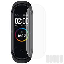 <b>TPU Soft Screen Protective</b> Films for Xiaomi Mi Band 5 5PCS Sale ...