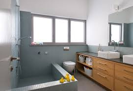 architecture bathroom toilet:  examples of bathroom vanities that have open shelving having the open shelf next