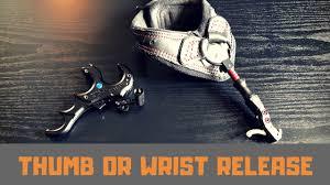 Thumb <b>Release</b> vs <b>Wrist Release</b> | Which <b>Bow Release</b> - YouTube