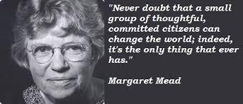 Margaret Mead Quotes. QuotesGram via Relatably.com